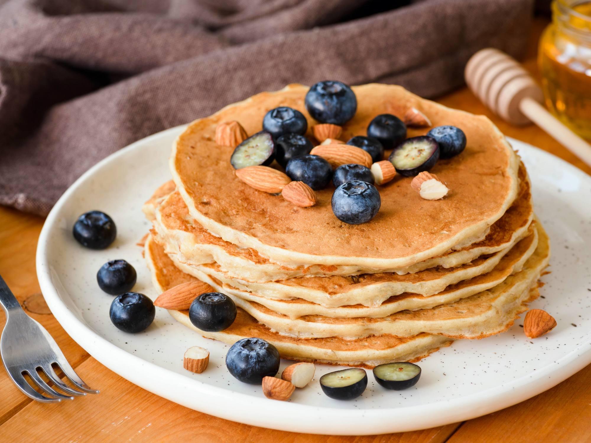 Pâte à Pancakes vegan