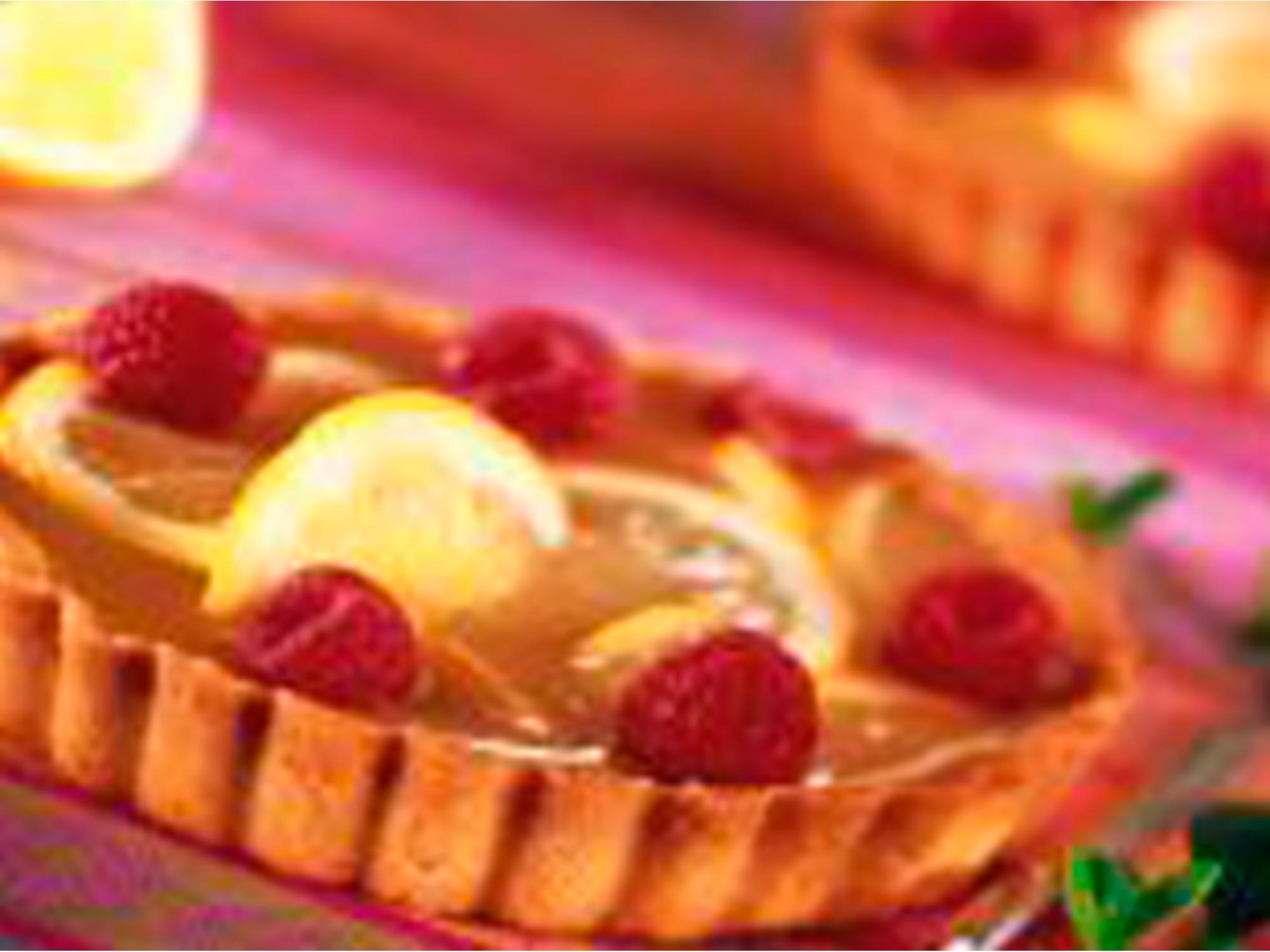 Tarte nectarine à la cannelle et au citron