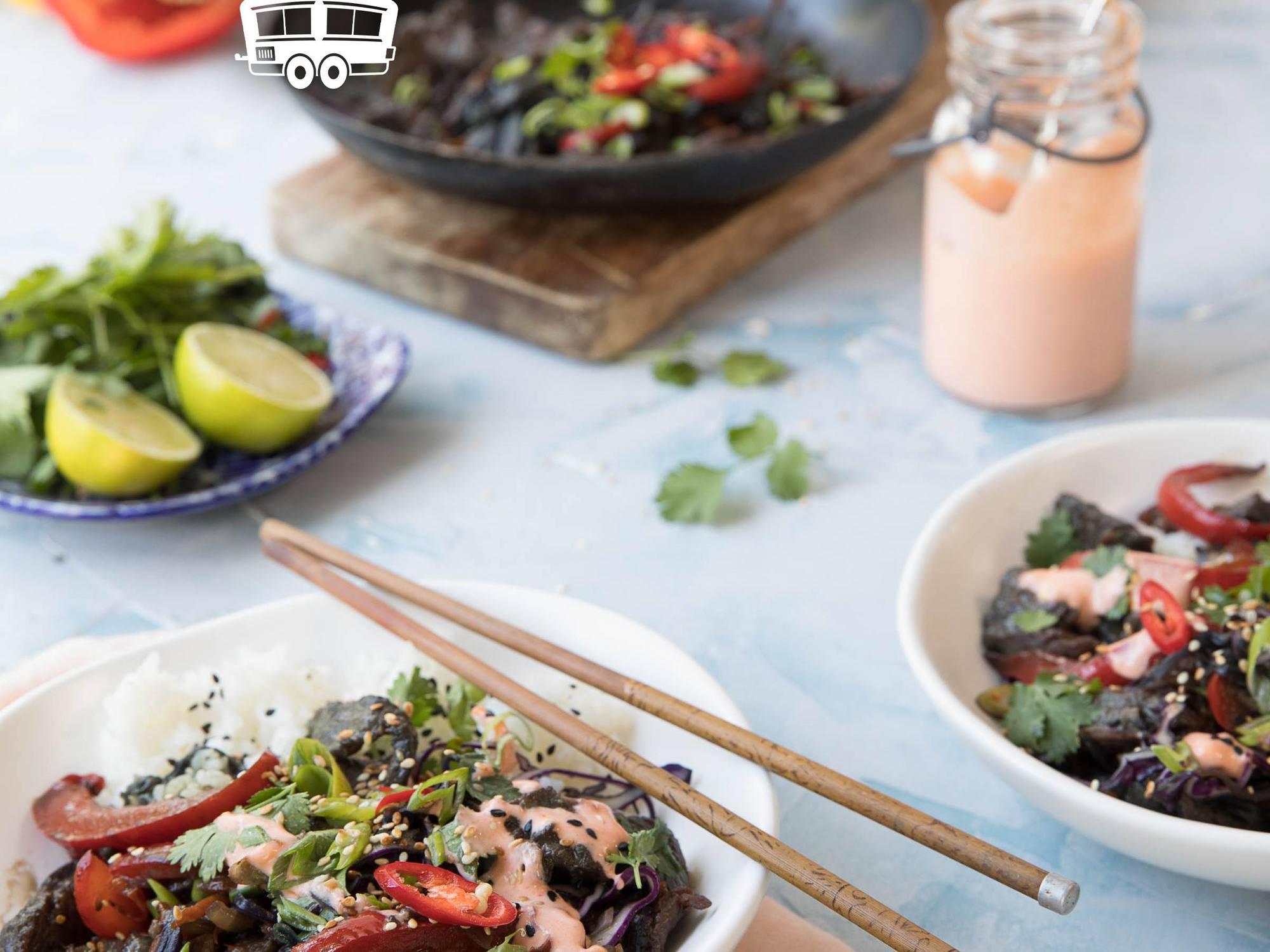 Korean-Style Beef and Vegetable Stir Fry