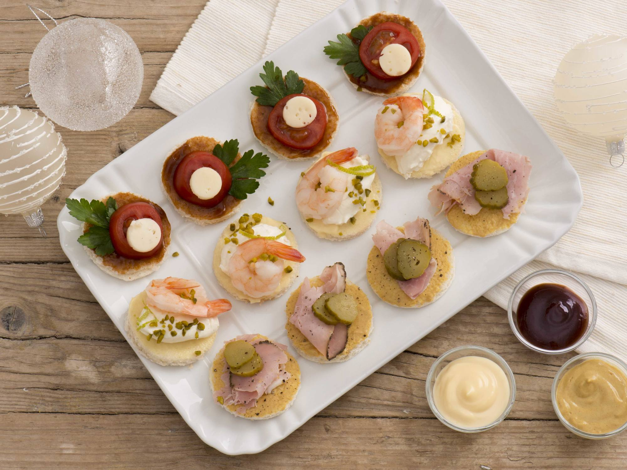 Canapes Assortiti