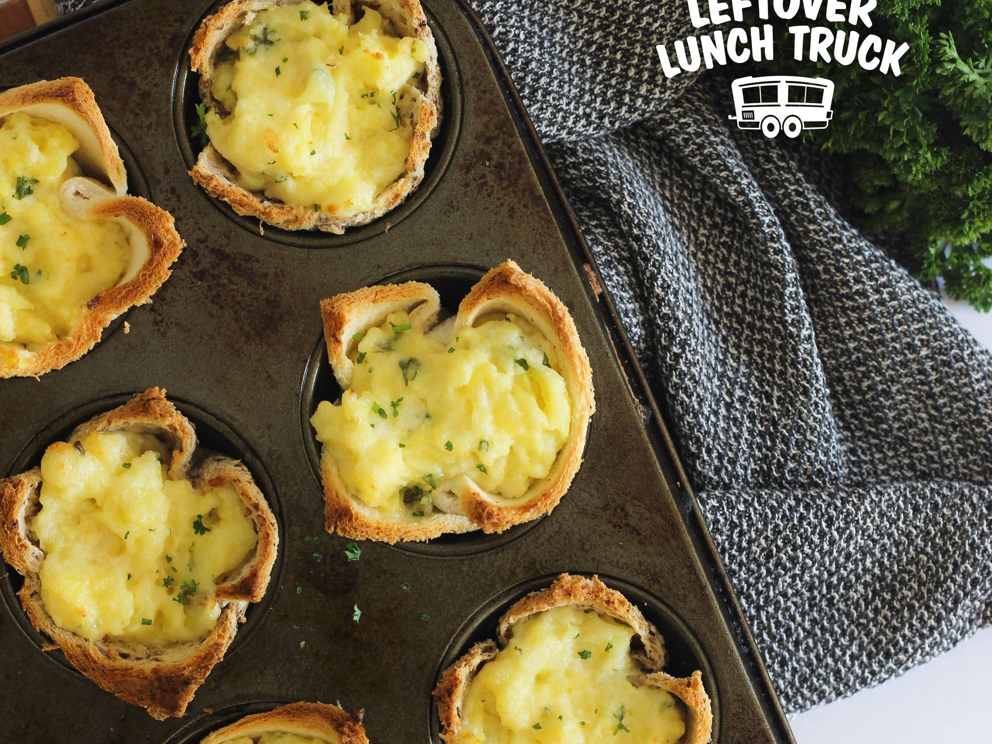 Casserole Leftover Mashed Potato Bread Cups | Hellmann's NZ