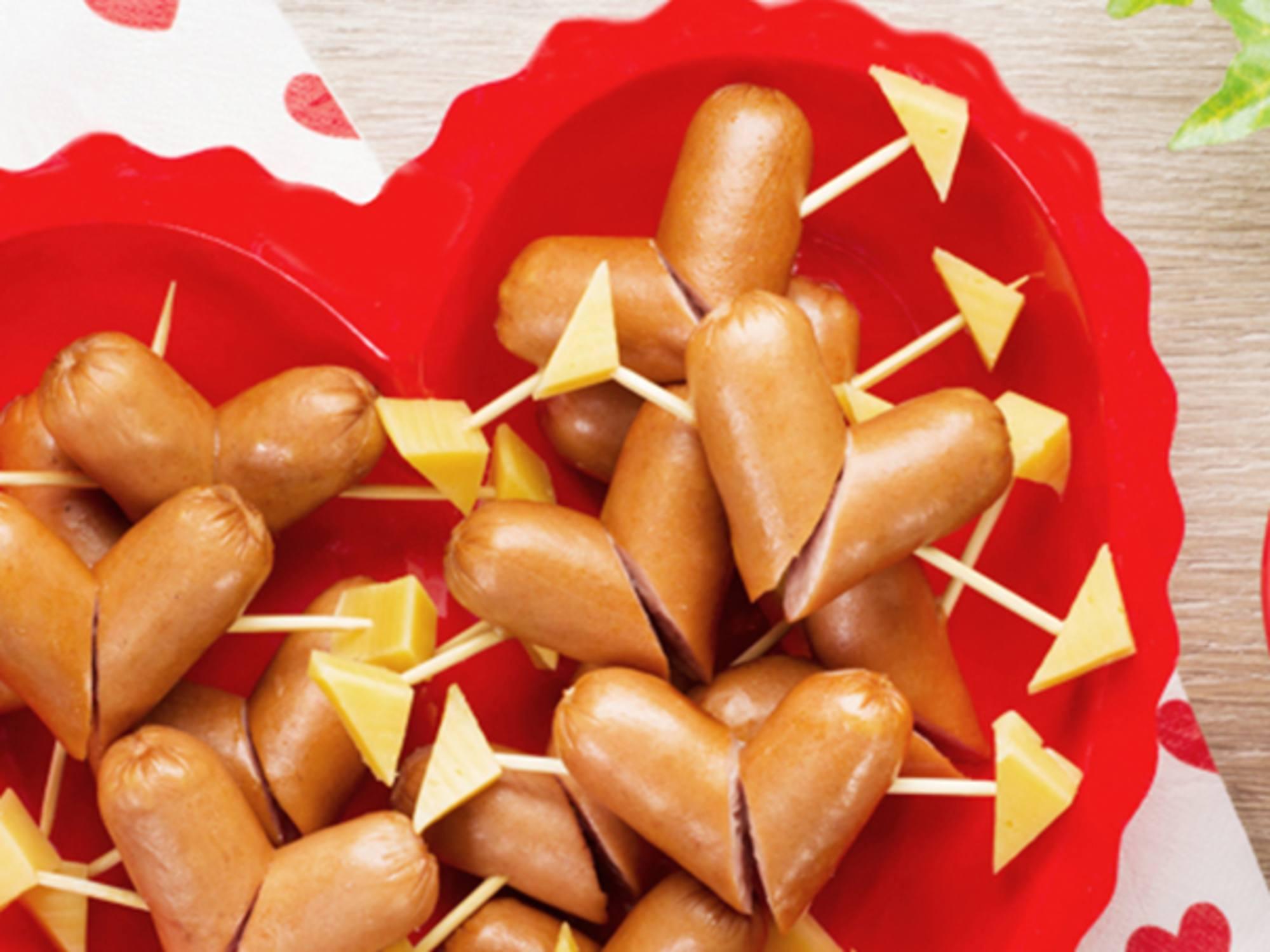 Salchichitas con Mayodulce Fruco Para Compartir