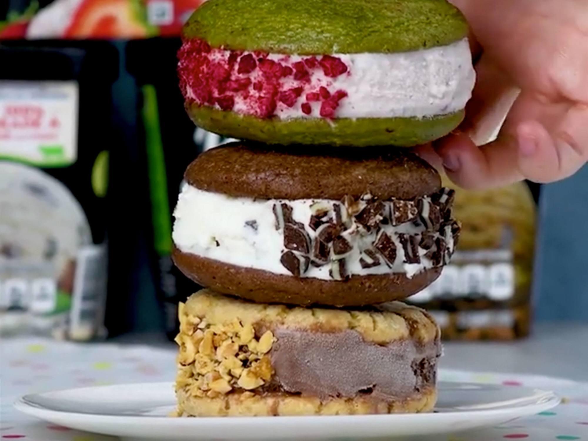 Pick Your Flavor Ice Cream Sandwiches Recipe