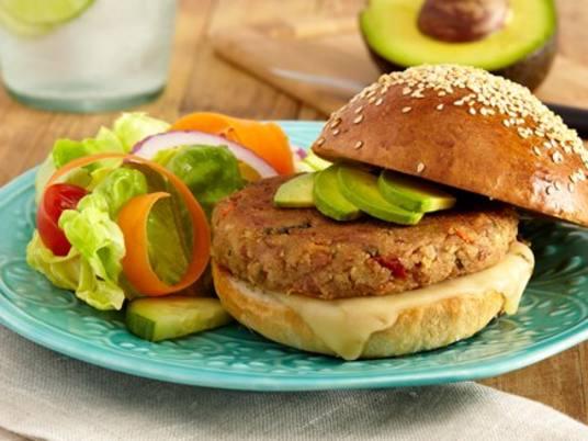 Souperior Veggie Burger