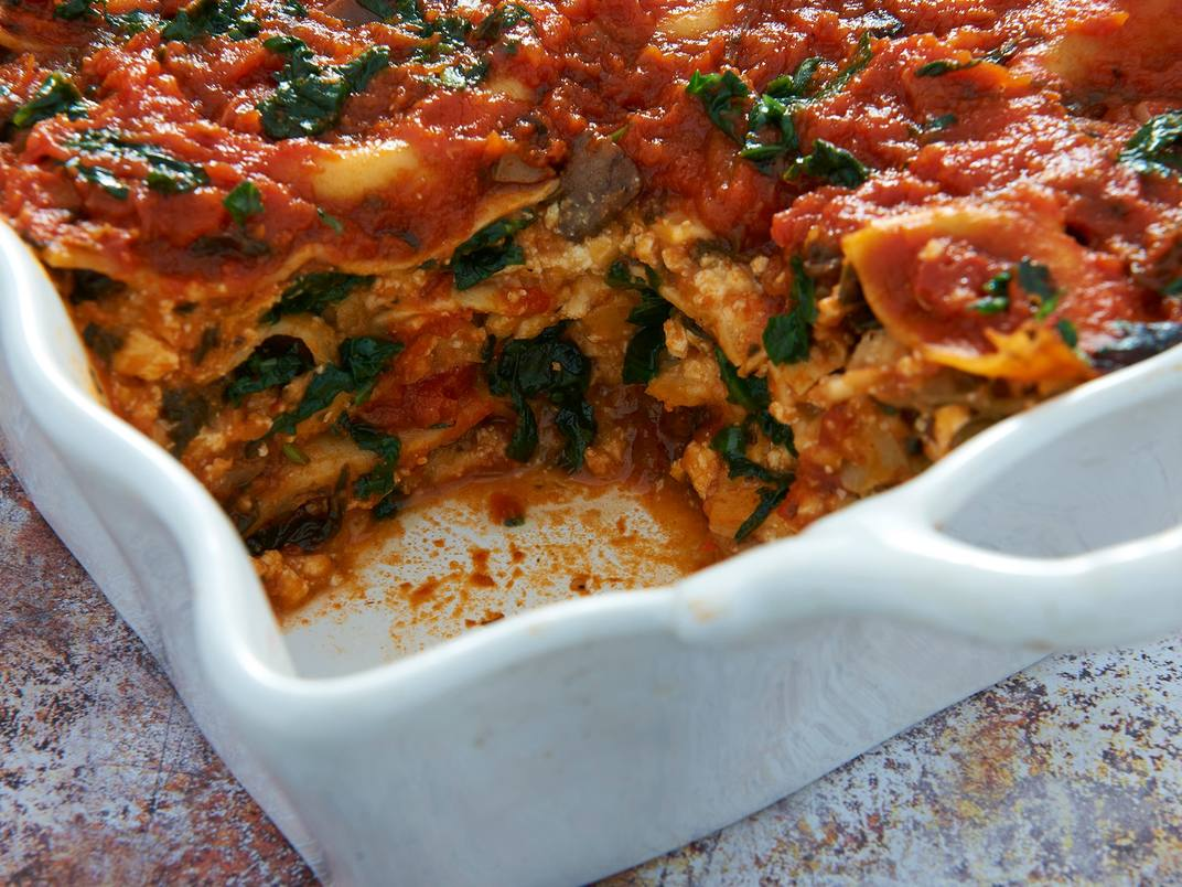 Vegan Lasagna with Veggie Sauce