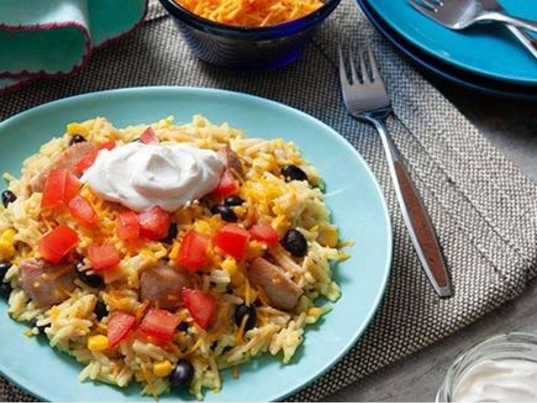 Cheesy Chicken Fiesta