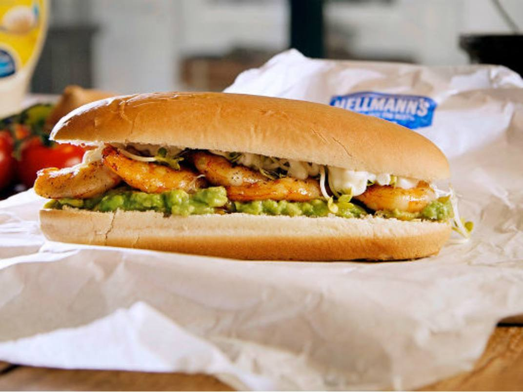 Prawn Burger