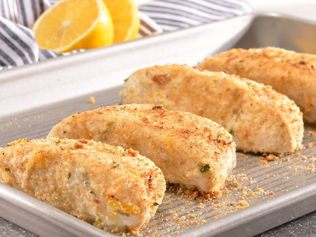 Lemon-Herb Crusted Cod