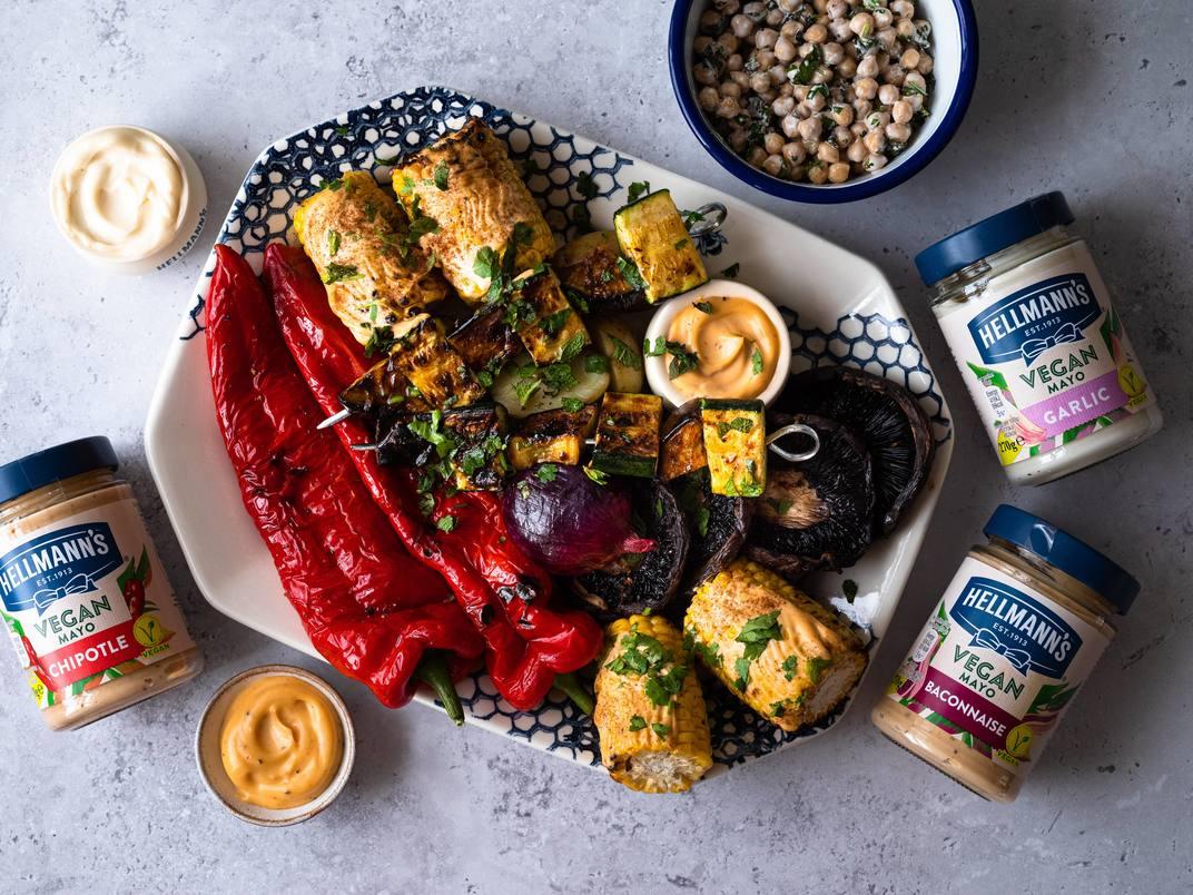 Vegan BBQ Sharer Platter
