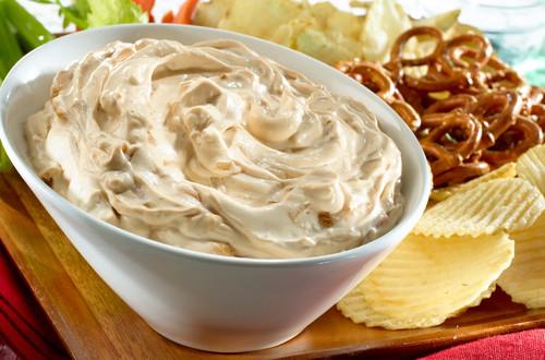 Salsa cremosa de cebolla y chipotle