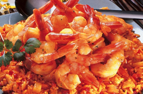 Rice with Shrimp & Pineapple