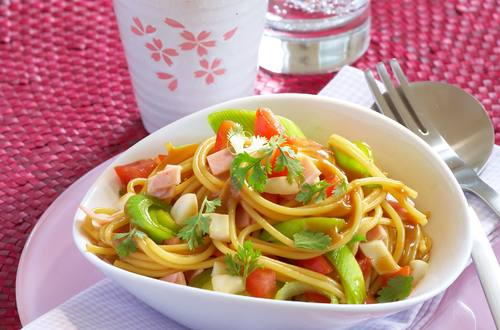 Knorr - Asiatischer Spaghettisalat
