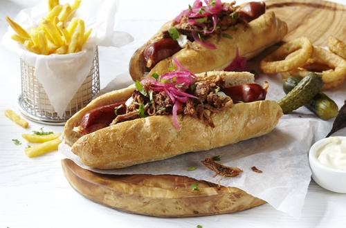 Hellmann's - Pulled Pork Hot Dogs