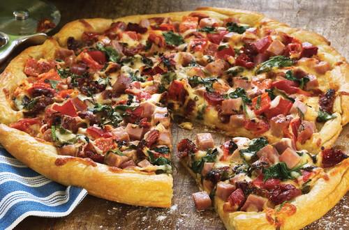 Pizza rustique