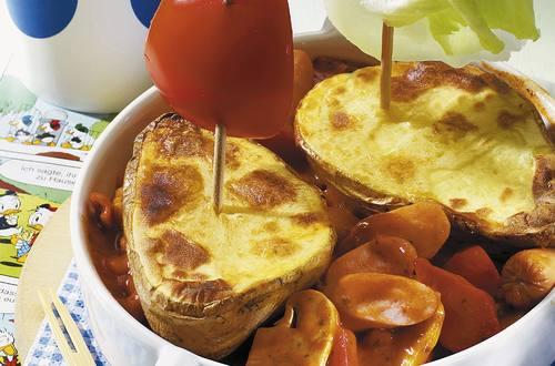 Kartoffel-Boote