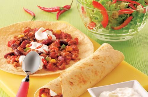 Knorr - Tortillas mit feurigem Chili