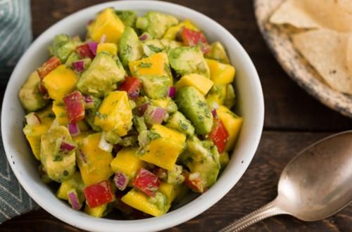 Avocado and Mango Salad