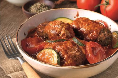 Lekker veel groenten met de Griekse Kofta van Knorr