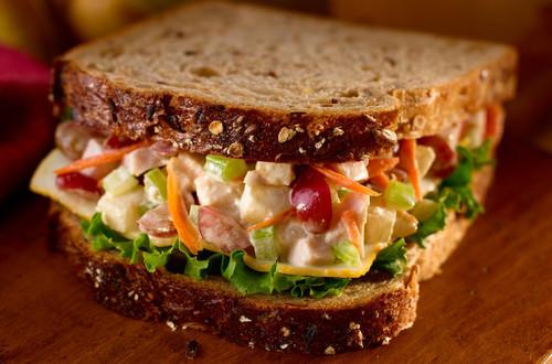 Turkey 'N Pear Salad Sandwiches