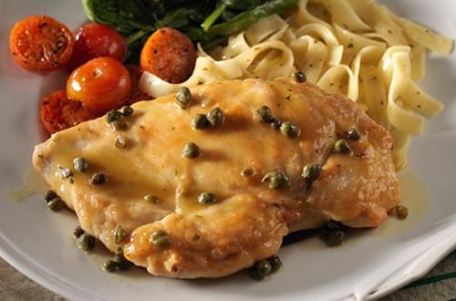 Chicken Piccata Pasta Skillet