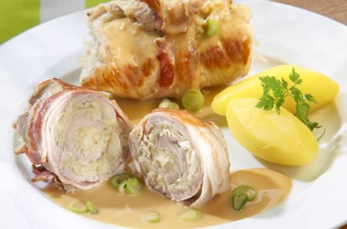 Knorr - Schweinsrouladen mit Krautfüllung
