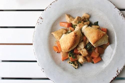 Casserole de poulet à la patate douce