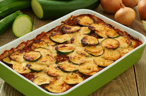 Moussaka van courgette