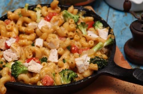 Cheddar Broccoli Skillet