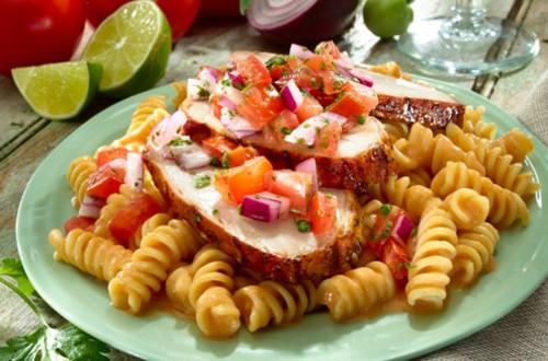 Chipotle-Salsa Pork Tenderloin