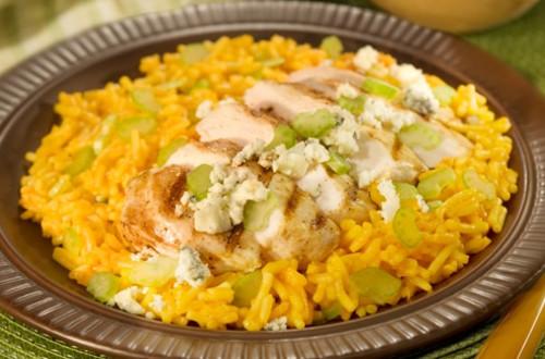 Buffalo Chicken & Rice Dinner