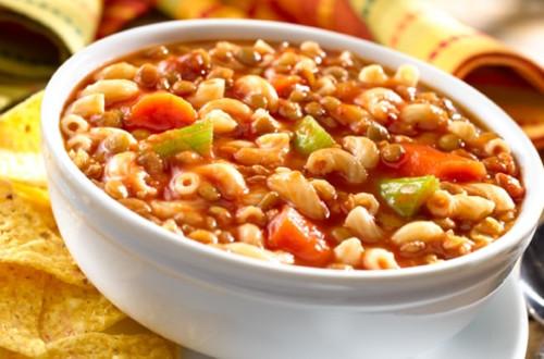 Lentil & Pasta Stew