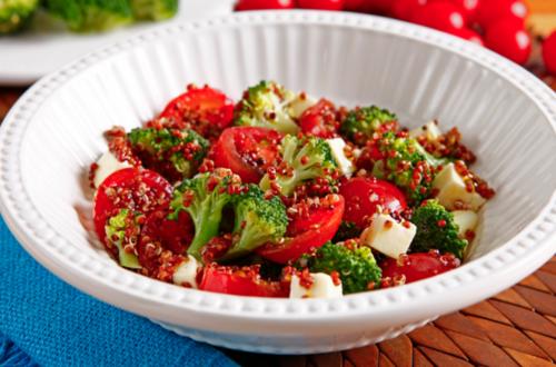 Salada de Quinoa com Brócolis
