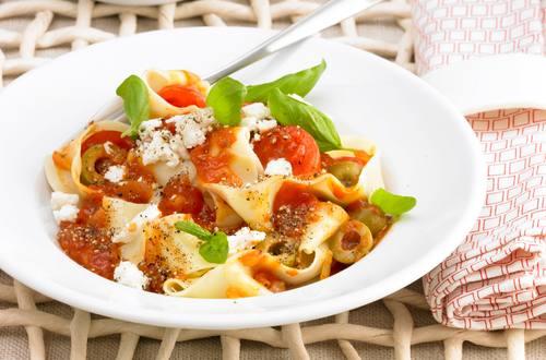 Knorr - Bandnudeln mit Tomatensauce