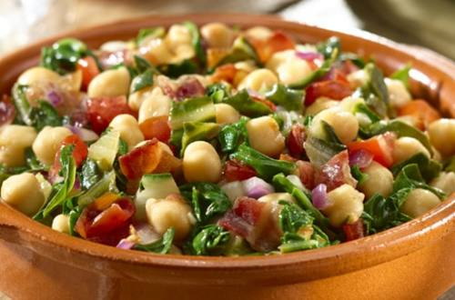 Sauteed Greens and Beans