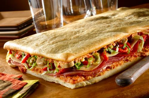 Antipasti Pizza Sandwich
