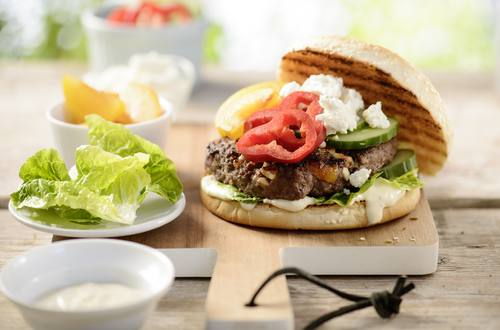 Knorr - Oriental Style Burger – America meets Orient