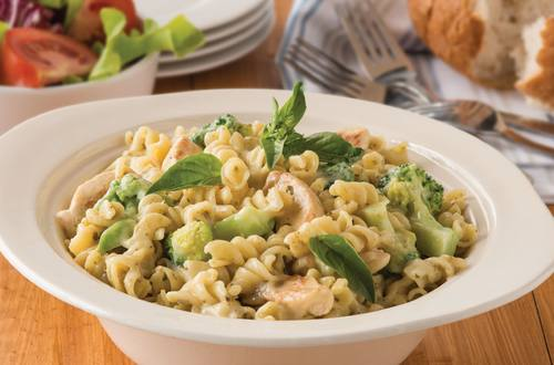 Chicken & Pesto Pasta Recipe with Broccoli