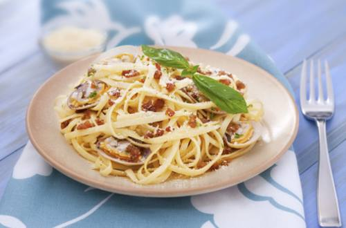 Pasta Vonggole with Vigan Longganisa Recipe