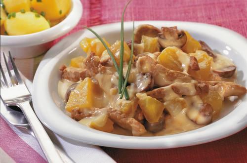 Knorr - Rindergeschnetzeltes Französische Art mit Champignons