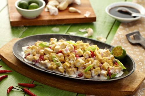 Crispy Tofu Sisig Recipe