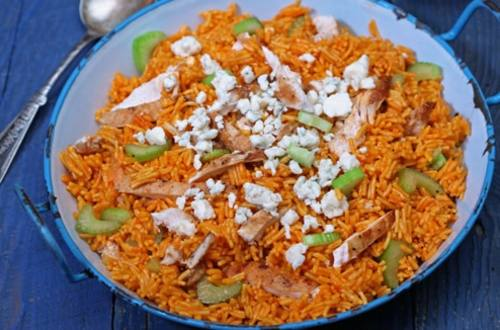 Buffalo Chicken & Rice