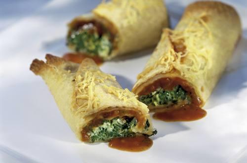 Knorr - Tortilla-Spinat-Gratin
