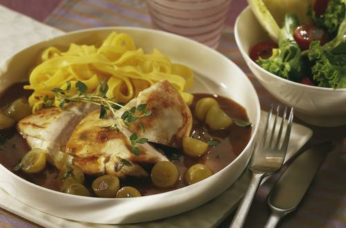 Knorr - Hähnchenbrust mit Weintrauben
