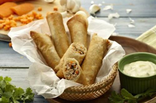 Crispy Tinapa Rolls Recipe