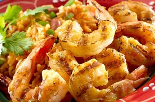 Smokey Garlic BBQ Shrimp