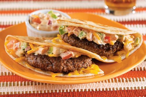 Nicole's Quesadilla Burgers
