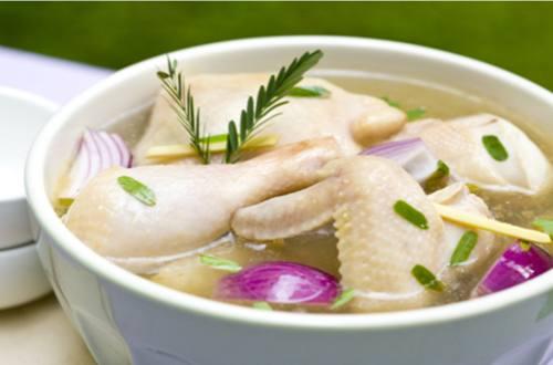 Sinampalukang Manok with Dahon ng Sampalok Recipe
