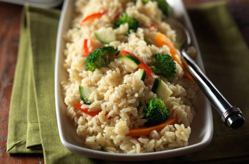 Easy Vegetable Rice
