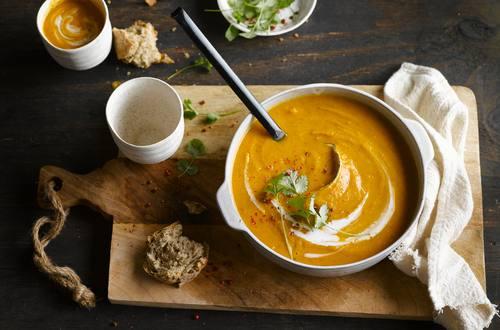 Thai Curry Sweet Potato Lentil Soup