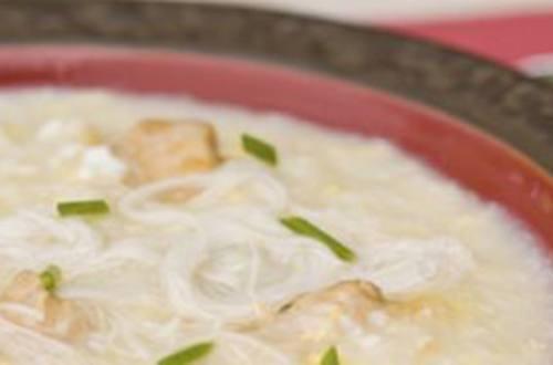 Delicious Chicken Misua Recipe